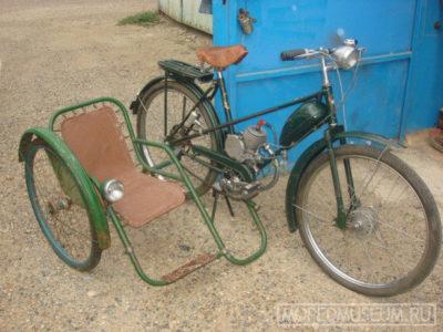 Боковой пассажирский (детский) велоприцеп (1964-…)