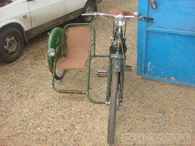 Боковой пассажирский (детский) велоприцеп (1956 — …)