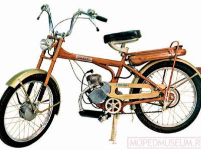 Легкий мопед «Рига-11» РМЗ-1.411 (1976-1981)