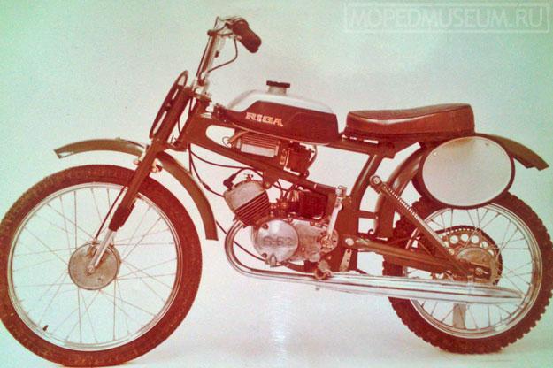 Кроссовый микромотоцикл Рига-20 Юниор (1984-1990)