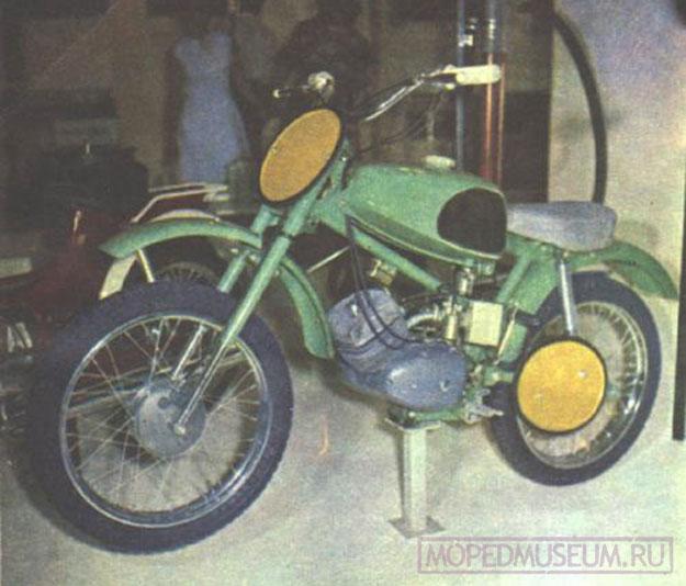 Кроссовый микромотоцикл Рига-6K (1971-1975)