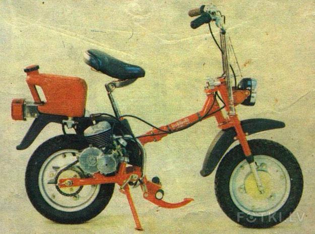 Складной микро-роллер Mini RMZ2 (1984)