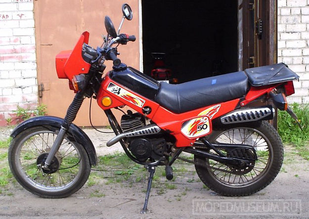 Мокик ЗДК 2.103 Пилот (1995-2004)