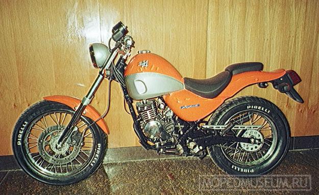 Мокик-кастом ЗиД-80 Аркан (2000)