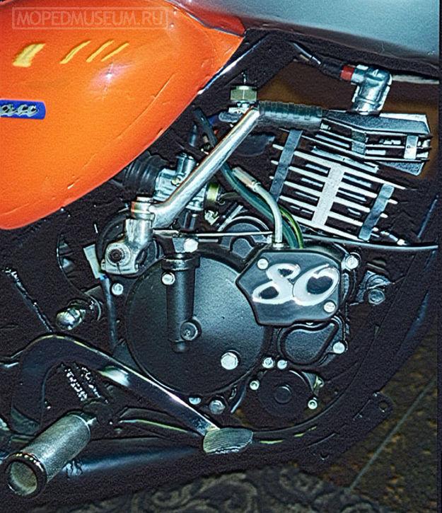 Двигатель ЗДК-80 (1998)