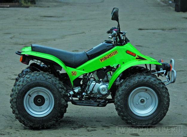 Квадроцикл детский ЗиД Робинзон-Lifan (2004)