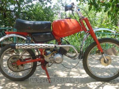 Кроссовый минимотоцикл «Карпаты-Кросс» ЛМЗ-2.752 (1986-1990)