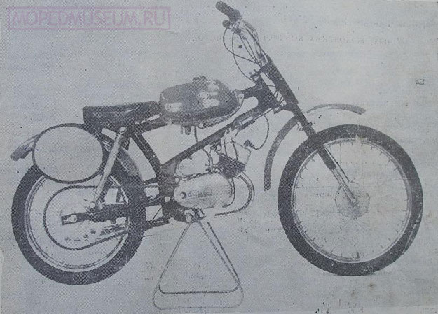 Кроссовый микромотоцикл Рига-14-Юниор РМЗ-2.714 (1975-1981)