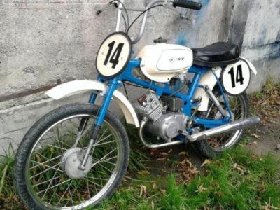 Кроссовый микромотоцикл «Рига-22-Юниор»