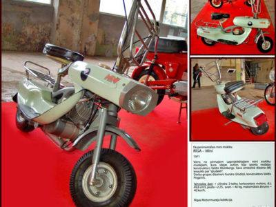 Микро-роллер «Riga Mini» (1971)
