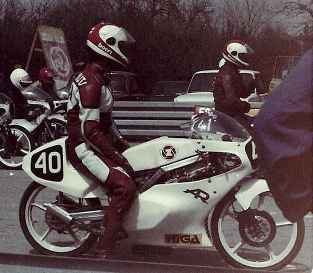 Шоссейно-кольцевой микромотоцикл Рига-23С (1983)