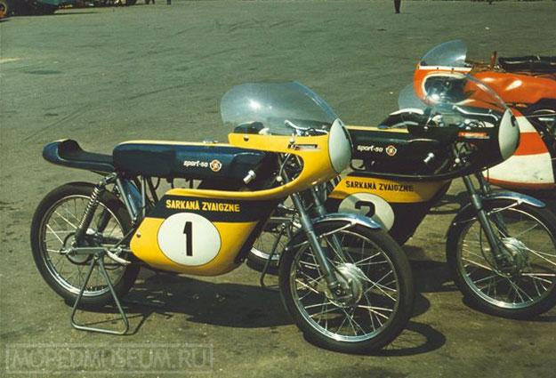 Шоссейно-кольцевой микромотоцикл Рига-11С (1970-1971)