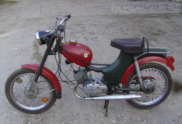 Мопед Рига-12 (1972-1977)