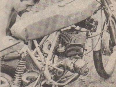 Шоссейно-кольцевой микромотоцикл «Рига-125»