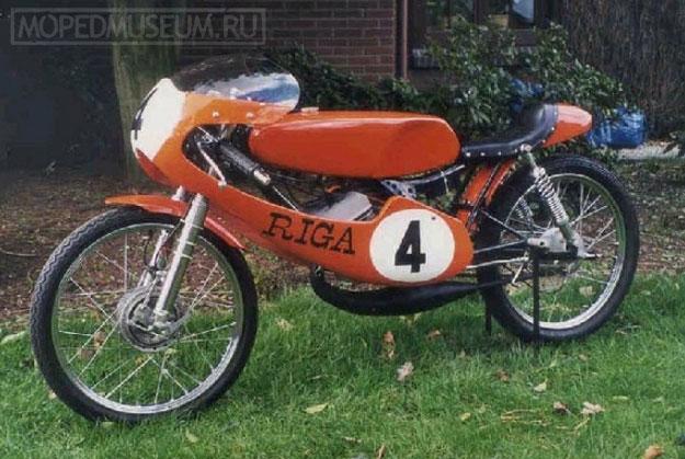 Шоссейно-кольцевой микромотоцикл Рига-13С (15S GP) (1972)