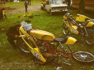 Шоссейно-кольцевой микромотоцикл «Рига-13С» («15S GP») (1972)