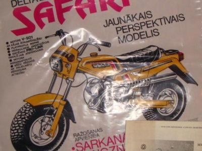 Мокик-вездеход «Delta Safari» (1988)