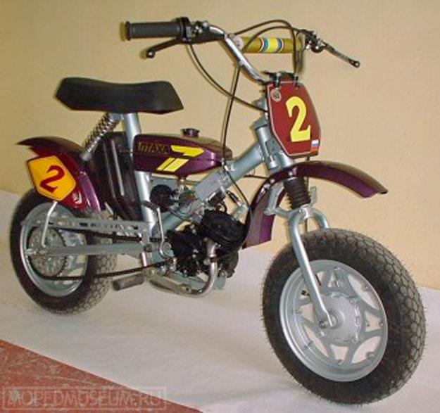 Спортивный микромотоцикл Птаха-НРМФ (2003)
