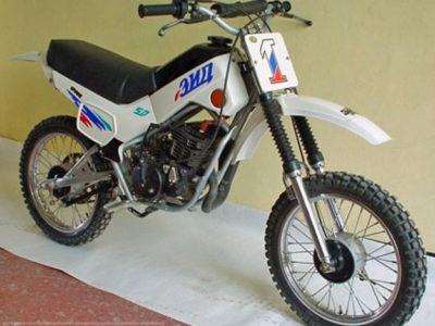 Спортивный кроссовый мокик «Пилот-80-НРМФ» (2003)