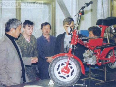 Минимокик «Птаха» прототип (1997)