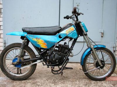 Мокик спортивный для мотобола ЗиД-50-СМБ (1998-1999)