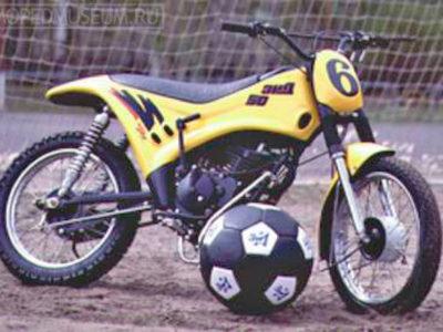 Мокик спортивный для мотобола ЗиД-50-СМБ с обвесом (1998-1999)