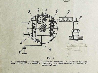 Мопедный двигатель Š-50. Техническое описание