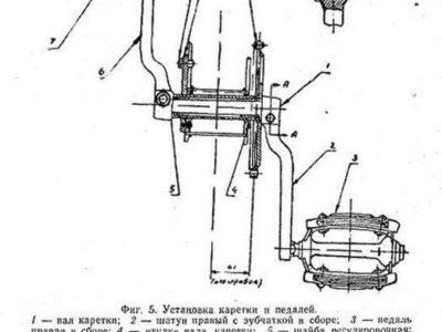 Мотовелосипед МВ-042. Краткая инструкция