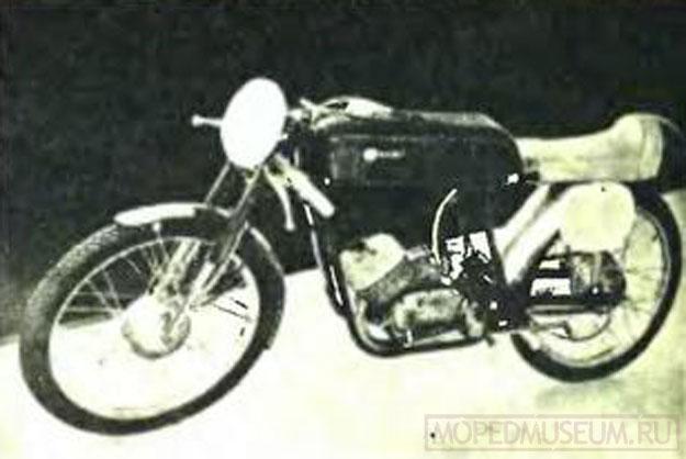 Элегантный спортивный мотоцикл SZ-50