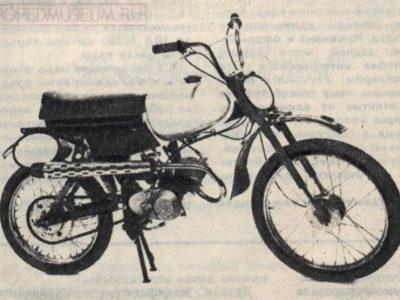 Кроссовый минимотоцикл «Карпаты-Кросс» ЛМЗ-2.752 (1989-1990)