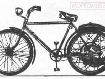 Мотор-колесо «С-0А» (1947)