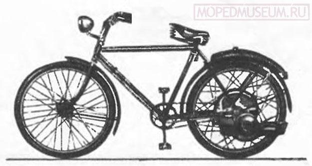 Мотор-колесо С-0А (1947)