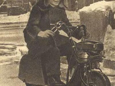 Велосипед с велодвигателем (1936-1938)