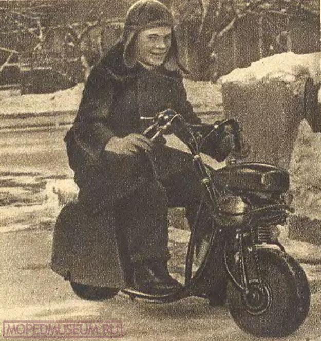 Миниатюрный мотоцикл