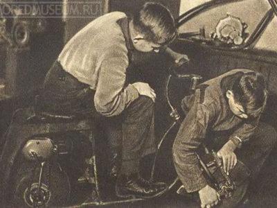 Вспомогательный велодвигатель КП-1 (1936-38)