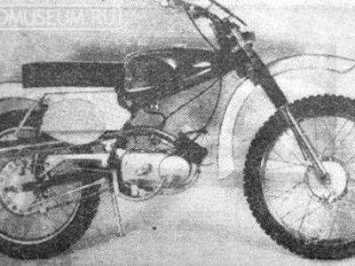 Кроссовый микромотоцикл «Рига-6У» (1968-1970)