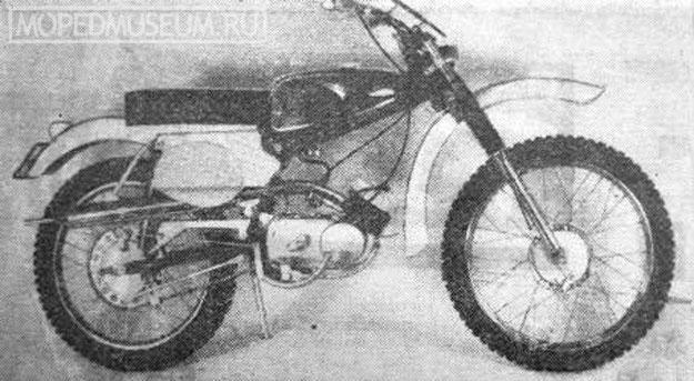 Кроссовый микромотоцикл Рига-6У (1968-1970)