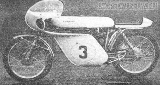 Спортивные мотоциклы отправлены на выставку