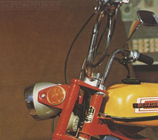 Мопед со свойствами микромотоцикла