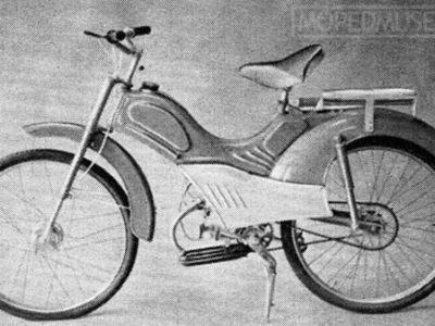 Легкий мопед «Львовянка» МВ-042М (1965-1966)