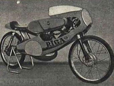 Шоссейно-кольцевой микромотоцикл «Рига-17С» (1976-1982)