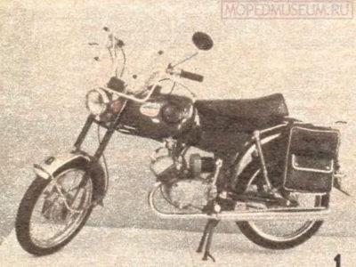 Мокик «Карпаты-Турист» ЛМЗ-2.160Т (1984)