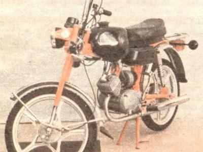 Мокик «Карпаты-Люкс» ЛМЗ-2.160Л (1984-1986)