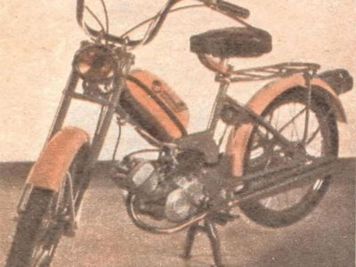 Легкий мопед РМЗ-1.415 (1984)