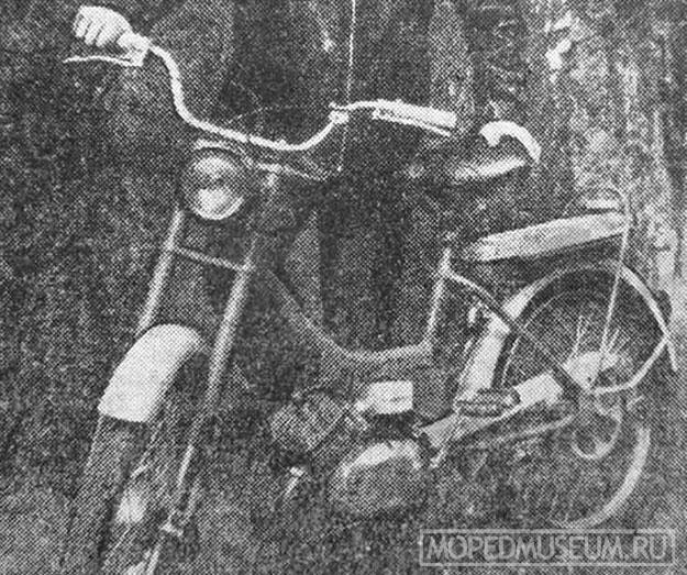 Мопед Рига-9 (1971-1974)