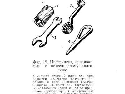 Велосипедный двигатель «Иртыш». Техническое описание