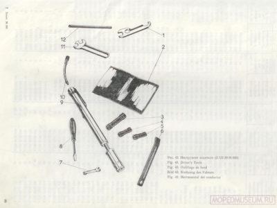 Мини-мокики РМЗ-2.130, РМЗ-2.130-01. Каталог деталей