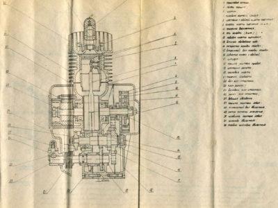 Двигатель внутреннего сгорания Д-16. Руководство по эксплуатации