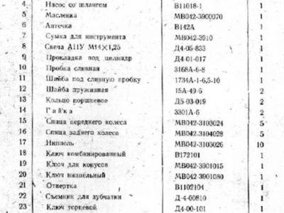 Легкий мопед МВ-044. Инструкция по уходу и эксплуатации