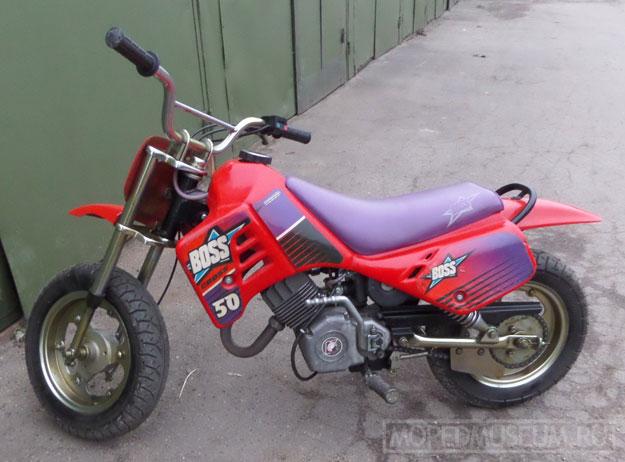 Микромотоцикл Босс (1997-1998)